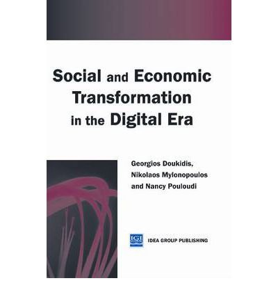 9781223049144: Social and Economic Transformation in the Digital Era