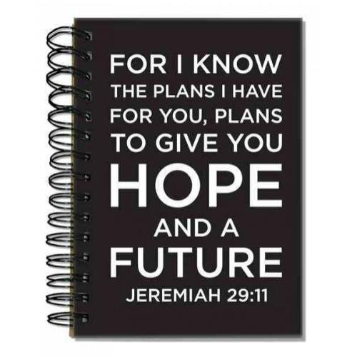 9781223062051: Words 2 Live by Jeremiah 29:11: 96 Ruled Full Color Pages