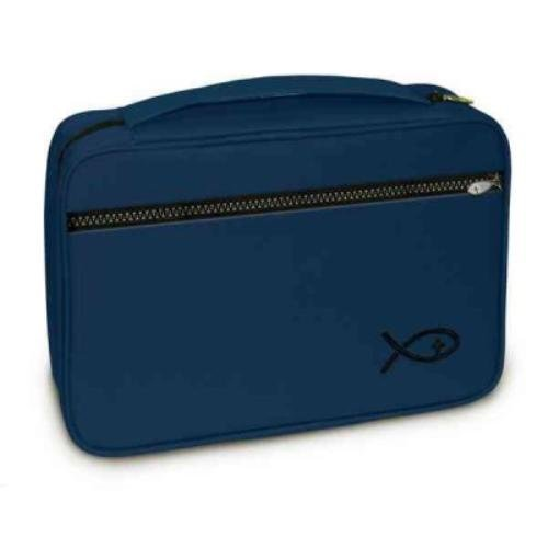 9781223062099: Deluxe Bible Cover Navy Large