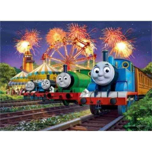 9781223062709: Thomas & Friends - Carnival at Night: 35 Piece Puzzle in a Tin