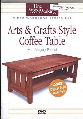 9781223064062: Arts & Crafts Coffee Table