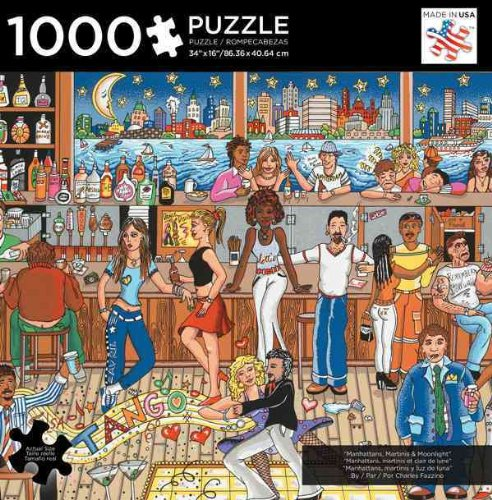 9781223064192: Manhattan, Martinis and Moonlight: 1,000 Pieces