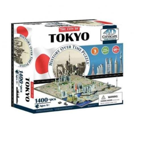 9781223064741: 4d Cityscape Tokyo History Time: 1,400 Pieces