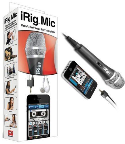 9781223064864: Irig Mic for Iphone Ipod Touch Ipad Microphone