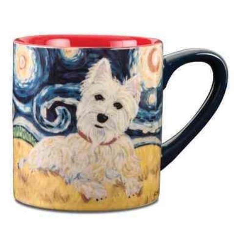 9781223065274: West Highland Terrier Van Growl - Mug