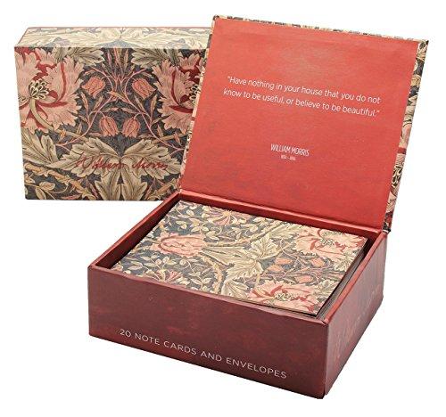 9781223065960: William Morris Boxed Notes