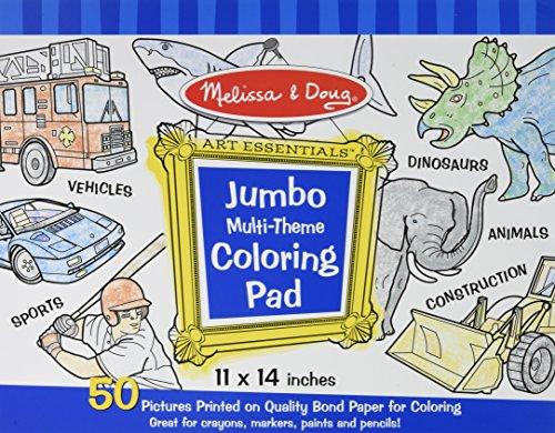 9781223068008 Jumbo Multi Theme Coloring Pad Blue Coloring Book