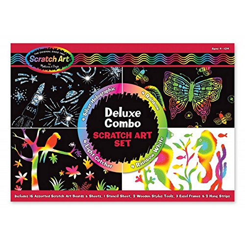 9781223068084: Deluxe Combo Scratch Art Set
