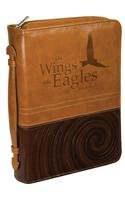 9781223069319: Bible Cover - Luxleather Isaiah 40:31 Brown - Large
