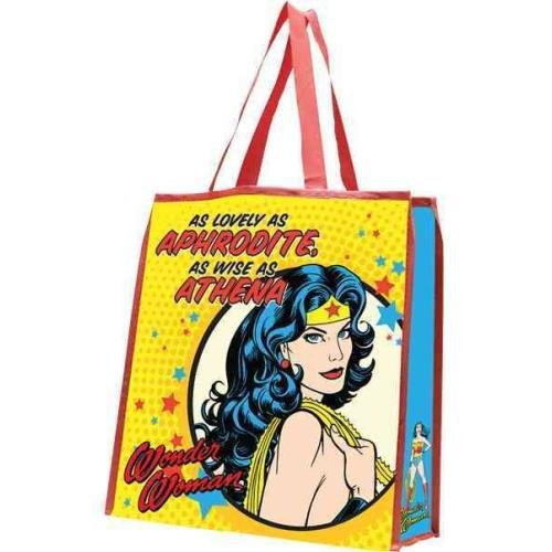 9781223070193: Wonder Woman Large Recycled Shopper Tote