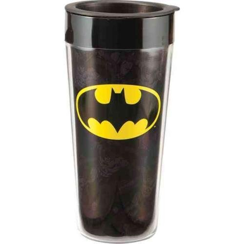 9781223070247: Batman 16 Oz. Plastic Travel Mug