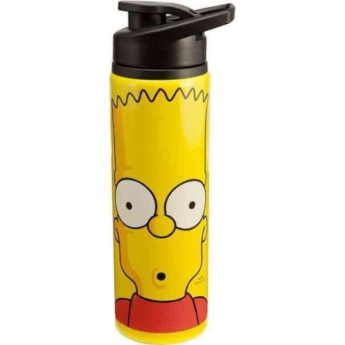 9781223070483: The Simpsons 24 Oz. Stainless Steel Water Bottle