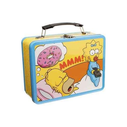 9781223070537: The Simpsons Large Tin Tote