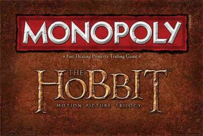 9781223078519: Monopoly: The Hobbit Trilogy Edition