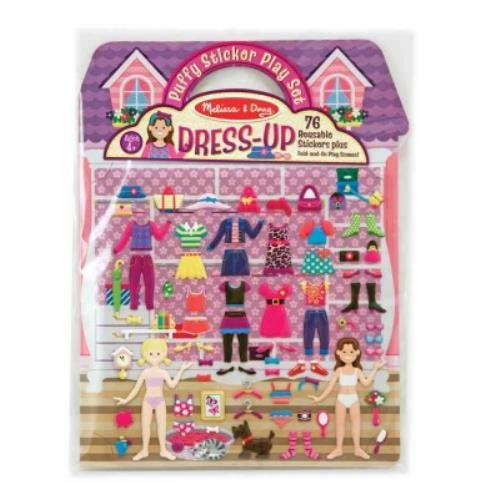 9781223080482: Puffy Sticker Play Set - Dress-Up