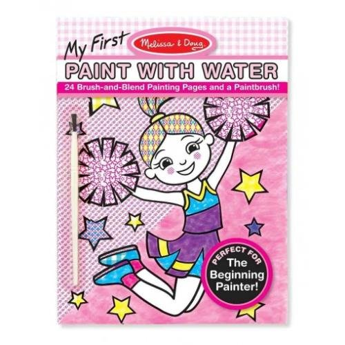 9781223080611: My First Paint With Water - Pink