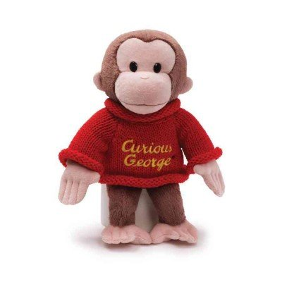 """9781223082684: Curious George Sweater: 12"""" Doll"""