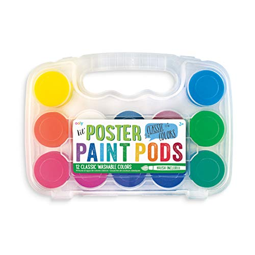 9781223083087: Lil Paint Pods - Set of 12 - Poster Paint + Brush