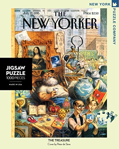 9781223092799: The Treasure New Yorker 1000 Pieces Jigsaw Puzzle
