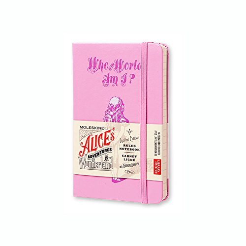 9781223094922: Who in the World Moleskine Alice's Adventures in Wonderland Notebook: Pink Magenta, Pocket, Ruled