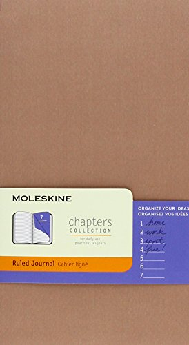 9781223095509: Moleskine Chapters Journal, Slim Large, Ruled, Old Rose Cover (Moleskine Chapters Collection)
