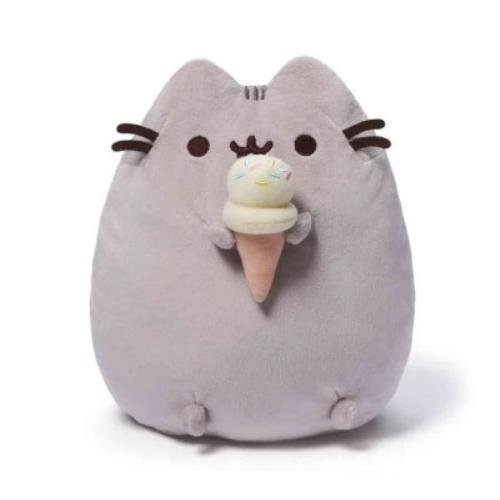 Pusheen With Ice Cream Cone Plush