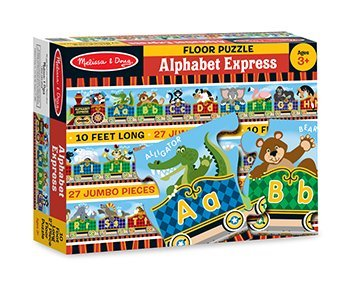9781223105123: Alphabet Express Floor Puzzle 27 PC