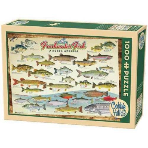 9781223113326: Freshwater Fish of North America: 1000 Pieces (Multilingual Edition)