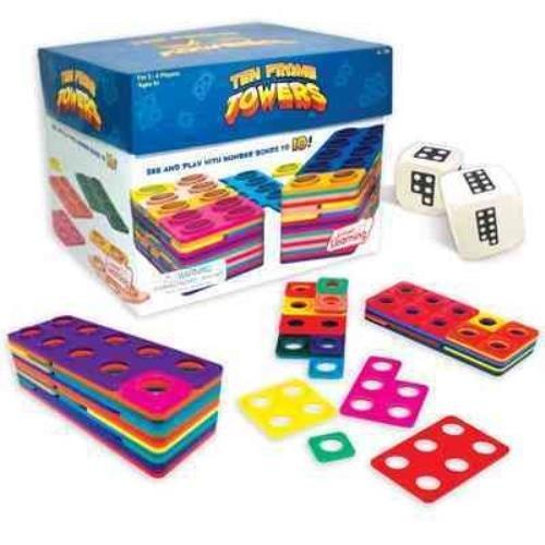 9781223113630: Ten Frame Towers