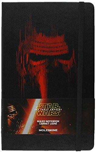 9781223115719: Moleskine Star Wars VII Limited Edition Lead Villain Large Ruled Hard Black
