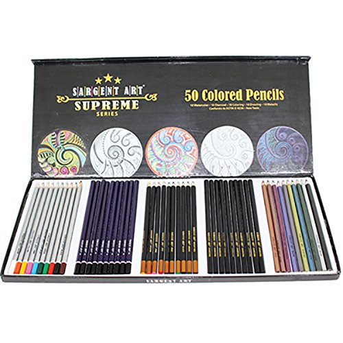 9781223117171: Pencil/50 Ct. Artist Pencil Set (Sargent Art Supreme)