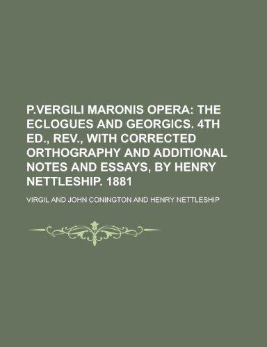 9781230004822: P.Vergili Maronis Opera