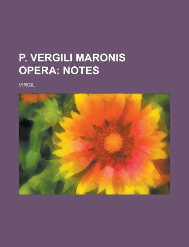 9781230021201: P. Vergili Maronis Opera