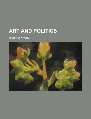 9781230073842: Art and politics