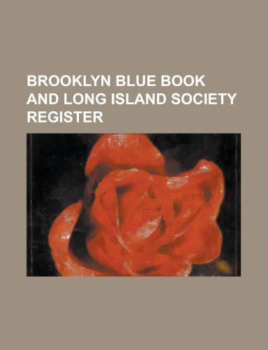 9781230080604: Brooklyn blue book and Long Island society register