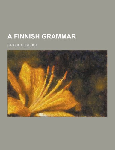 9781230194592: A Finnish Grammar