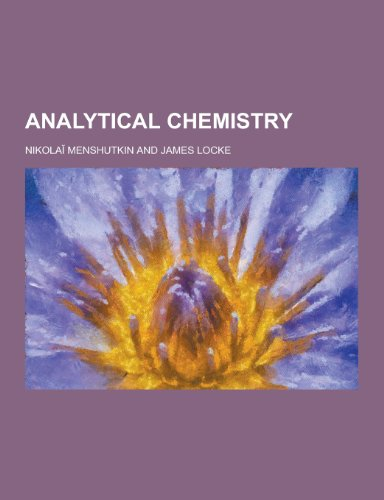 9781230197593: Analytical Chemistry