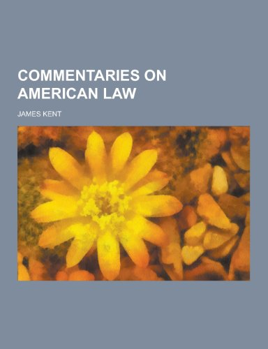 9781230199641: Commentaries on American Law