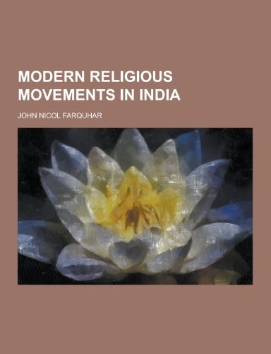 9781230205380: Modern Religious Movements in India