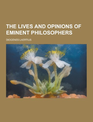 9781230216997: The Lives and Opinions of Eminent Philosophers