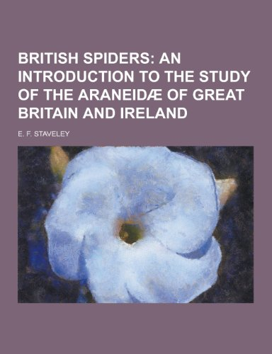 9781230224541: British Spiders