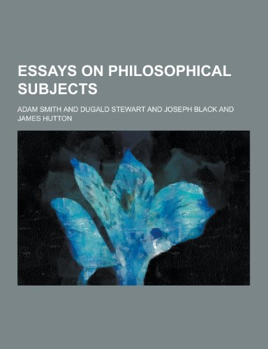 9781230227122: Essays on Philosophical Subjects