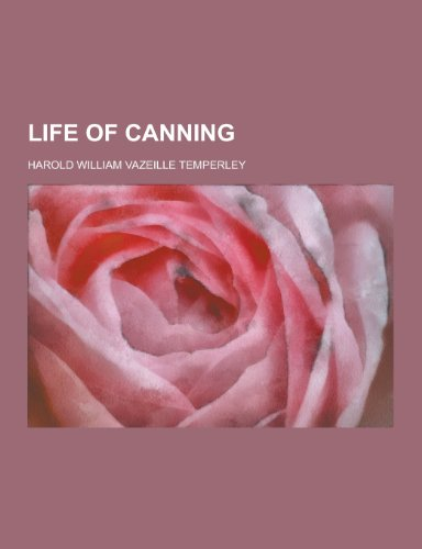 9781230232263: Life of Canning