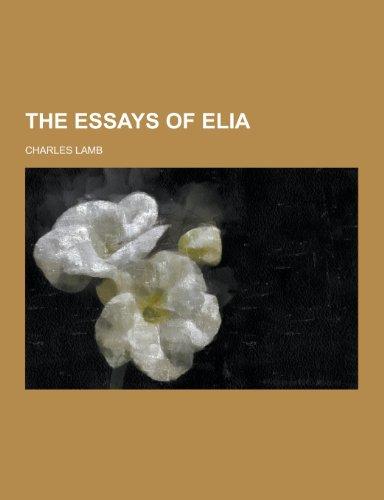 9781230242132: The Essays of Elia
