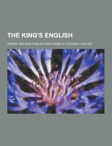 9781230243436: The King's English