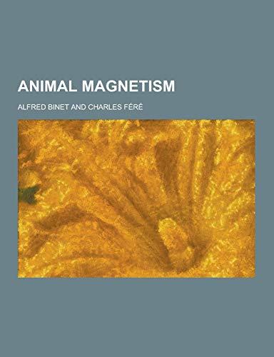 9781230257716: Animal Magnetism