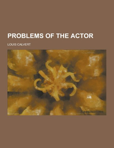 9781230270852: Problems of the Actor