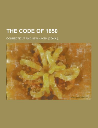 9781230277899: The Code of 1650
