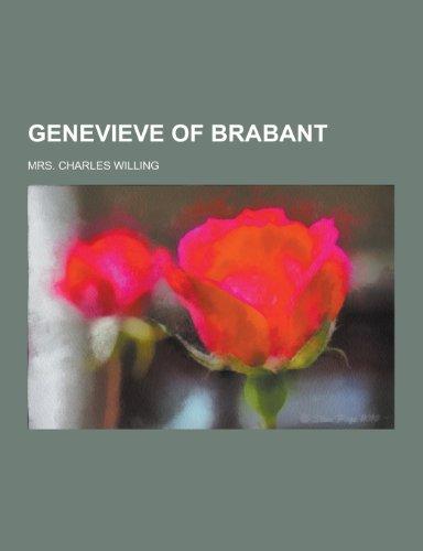 9781230286235: Genevieve of Brabant