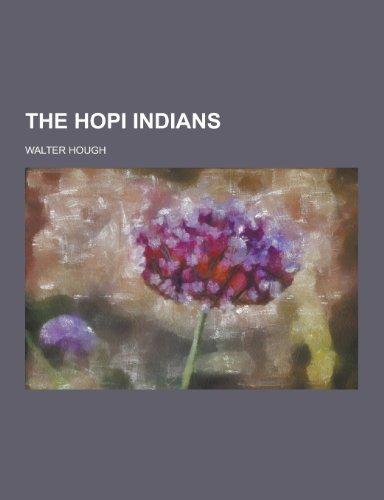 9781230294889: The Hopi Indians